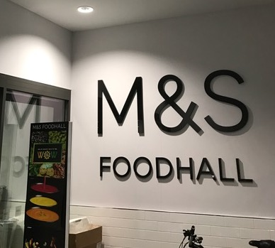 Marks and Spencer Drylinining project