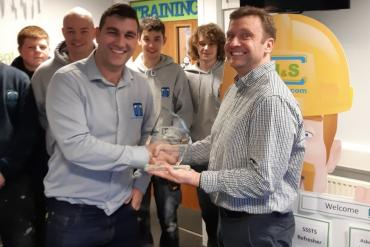 Spectrum Drylining wins Health and Safety Award 2018